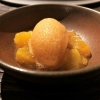 Post Dessert: Roibusch-Vanille-Sorbet