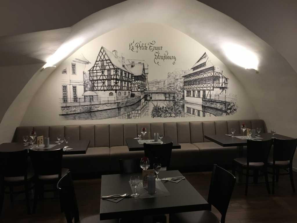 Bier & Brauerei Modern (ab 1960) Offizielle Website Keramik Bierkrug Essen Restaurant Guten Appetit Bedruckt