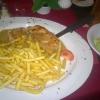 Putensteak mit Pfeffersauce und Kroketten Pommes für 13,90 €