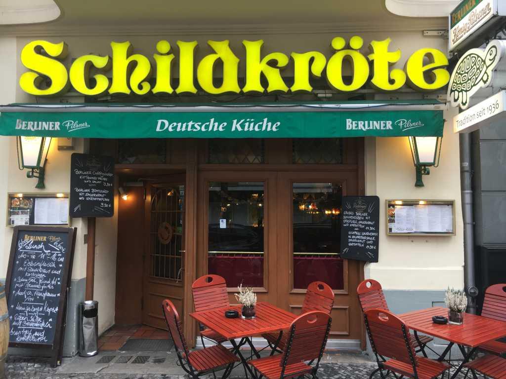 Schildkröte Restaurant In 10719 Berlin Charlottenburg