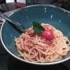 Zur Tafelrunde - Kinderspaghetti mit Tomatensauce