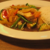 Mittagstisch: Gebratener Tofu mit Gemüse