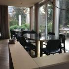 Foto zu Mauritzhof: 9.2.19 / Restaurant mit Blick auf die Terrasse und die Promenade