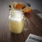 Foto zu DesignBar, Lounge & Eatery: Smoothie Orange/Zitrone/Ingwer