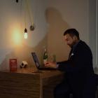 Foto zu DesignBar, Lounge & Eatery: Businessbereich - free Wifi