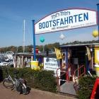 Foto zu Schwimmender Kiosk: