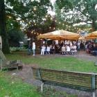Foto zu Biergarten im Hofgarten Dillenburg: Juni 2017