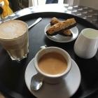 Foto zu Cafe in der Kaffeerösterei: 15.8.19 / Cafe nur mit Florentiner