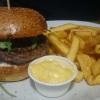 Waldburger mit Pommes, Beef war medium, leider zu wenig gewürzt ebenfalls 11,25