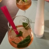 Ramazzotti-Rosato – Prosecco, Soda mit frischem Basilikum