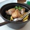 Schweinefiletmedaillons in der Cocotte serviert