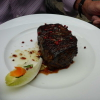 Steak mit rotem Pfeffer