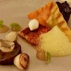 Foto zu Restaurant Weinhaus Uhle: BBQ: Short Ribs, Rauchaal, Blutwurst-Raviolo
