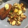 Schnitzel Wiener Art mit Bratkartoffeln
