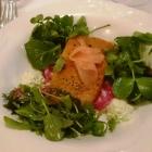 Foto zu Zum blauen Fuchs: 21.03.18 Lauwarmer Stremellachs im Salatbett