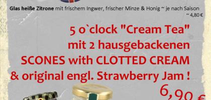Fotoalbum: 5´o Clock ~ Creamtea with Scones