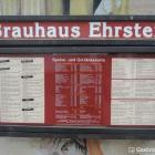 Foto zu Brauhaus Ehrstein: Schaukasten