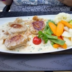 Foto zu Hotel Reich am Ebnisee · Himmelreich Almrestaurant: Schweinelende