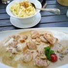 Foto zu Hotel Reich am Ebnisee · Himmelreich Almrestaurant: Geschnetzeltes