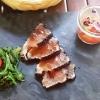 Thunfischsashimi im Sesammantel