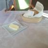 Brot mit gesalzener Butter aus der Normandie.