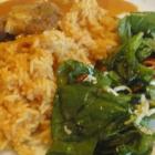 Foto zu Stivie Cuisine: Curry, Reis, Salat