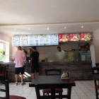 Foto zu Berger Kebab Haus: Blick auf den Verkaufstresen