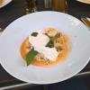Pfifferlings-Risotto mit Burrata & Jakobsmuschel für je 21,90 €