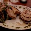 La Vigna Ziegenkäse aus dem Ofen mit marinierten Tomaten und  Salatbouquet