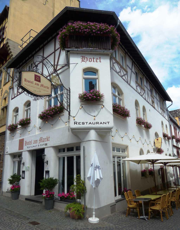 Hotel Am Markt Bacharach Dettmar Restaurant