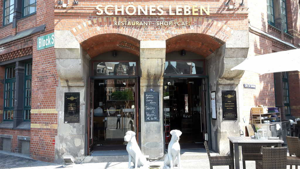 sch nes leben speicherstadt restaurant in 20457 hamburg. Black Bedroom Furniture Sets. Home Design Ideas