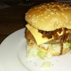 Foto zu Gabi's Schlemmerstube: Riesenburger mit gedünsteten Zwiebeln