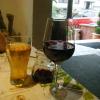 Apfelschorle und Rioja