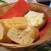 Brot und Knoblauchdip