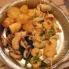 Brocheta Calamares y Gambas