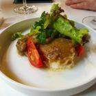 Foto zu Restaurant Ohso: Schsfskäse mit Walnusskruste