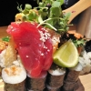 Traumhaftes Thunfisch-Sashimi