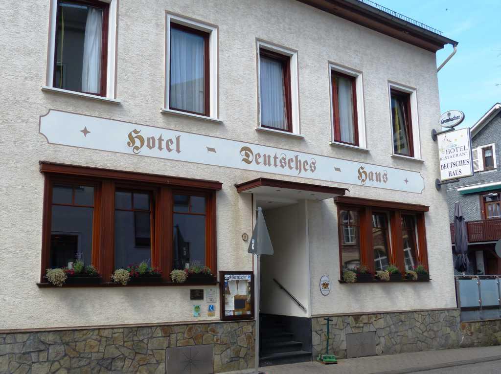 Deutsches Haus Restaurant Hotel in Kaub