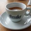 Espresso Macchiato mit minimalistischem Milchanteil
