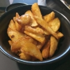 Hausgemachte Potatoe Wedges