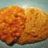 zwei Currys auf einem Teller
