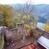 Blick von der Burg auf die Saarschleife