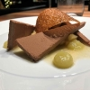 SchokoladenFondant / HonigbrotEis / HaselnussChip / Apfel