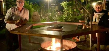 Fotoalbum: Feuerstelle für ihre Feier