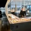 Die offene Küche mit Chefkoch Matteo Ferrantino