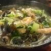 Meeresfrüchte und Muscheln (noch im Tauchgang)
