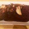 Wildragout in Preiselbeersauce mit Apfel-Rotkohl und Maronen