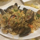 Foto zu Norcineria da Francesco: 29.1.19 / Pasta mit Vongole (und Miesmulis)