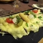Foto zu Gehrlein's Alte Mühle: Raclette Brot mit Speck und Mixed Pickles