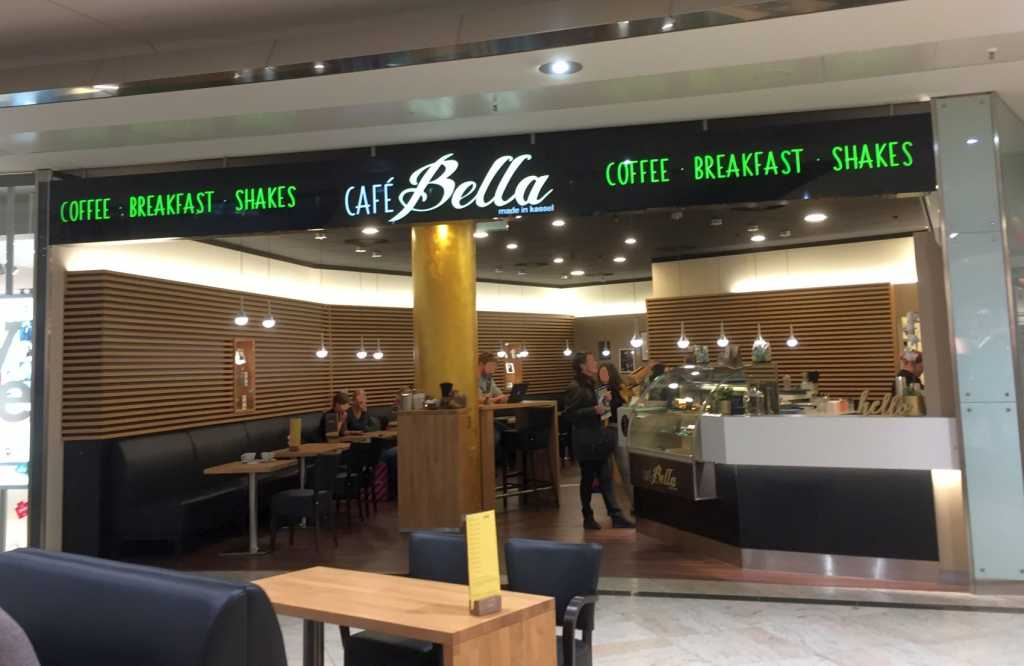Caf bella im city point cafe in 34117 kassel mitte for Depot kassel city point